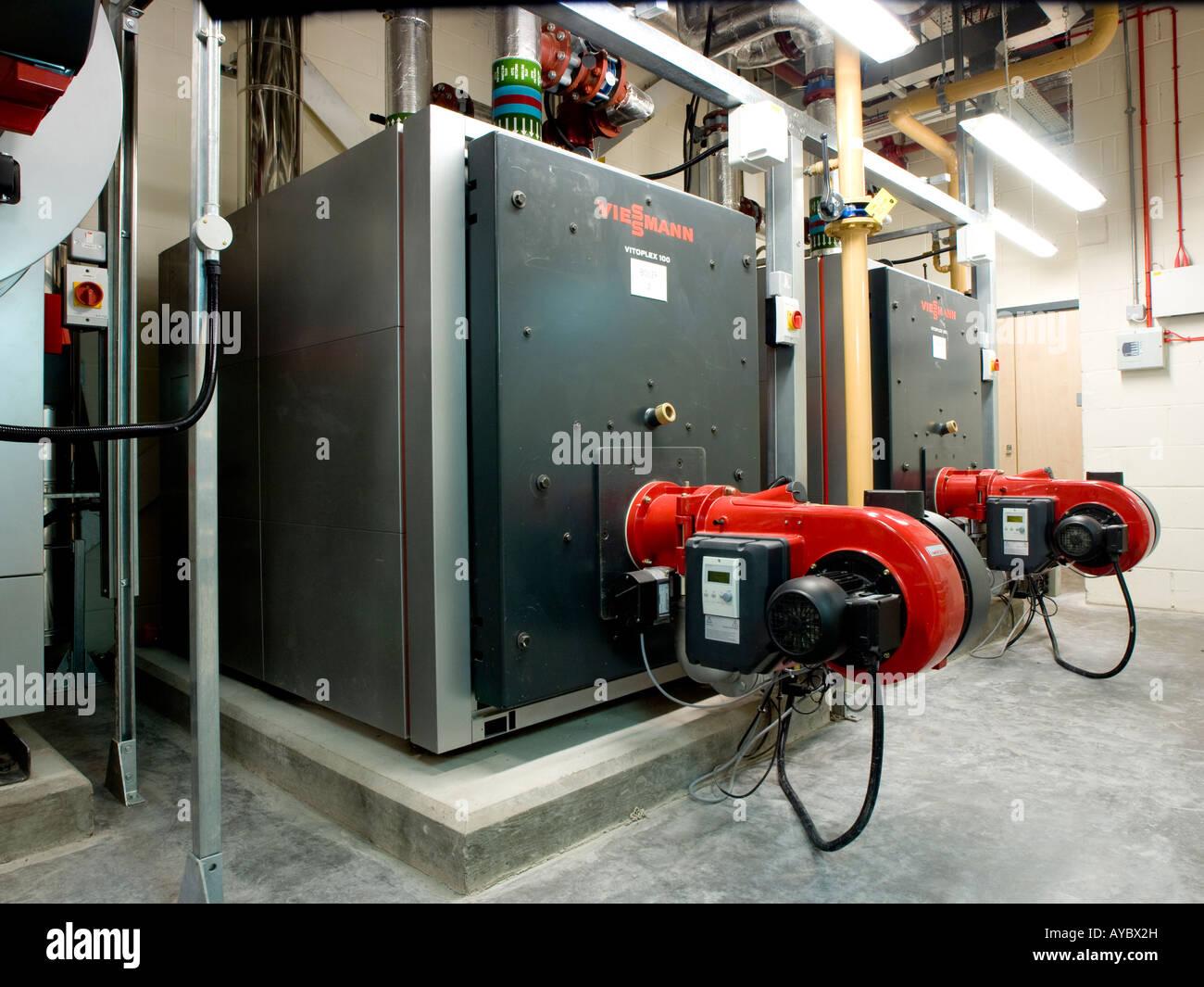 Power generators in a school plant room Stock Photo 17059192 Alamy