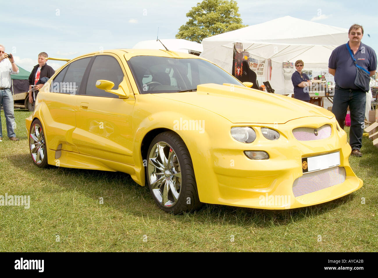 Boy Racer Rover 200 Car Fitted With Body Kit Styling Max Power Boy