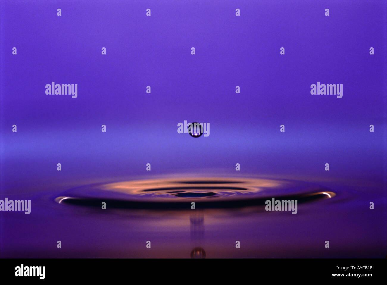drop of water - Stock Image