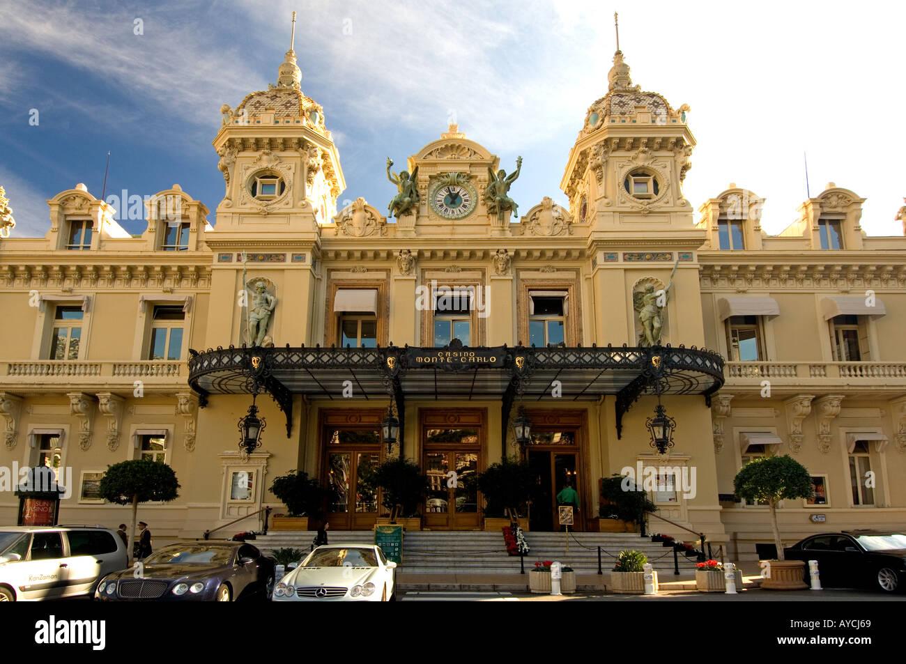 The Casino de Monte Carlo in the Principality of Monaco - Stock Image