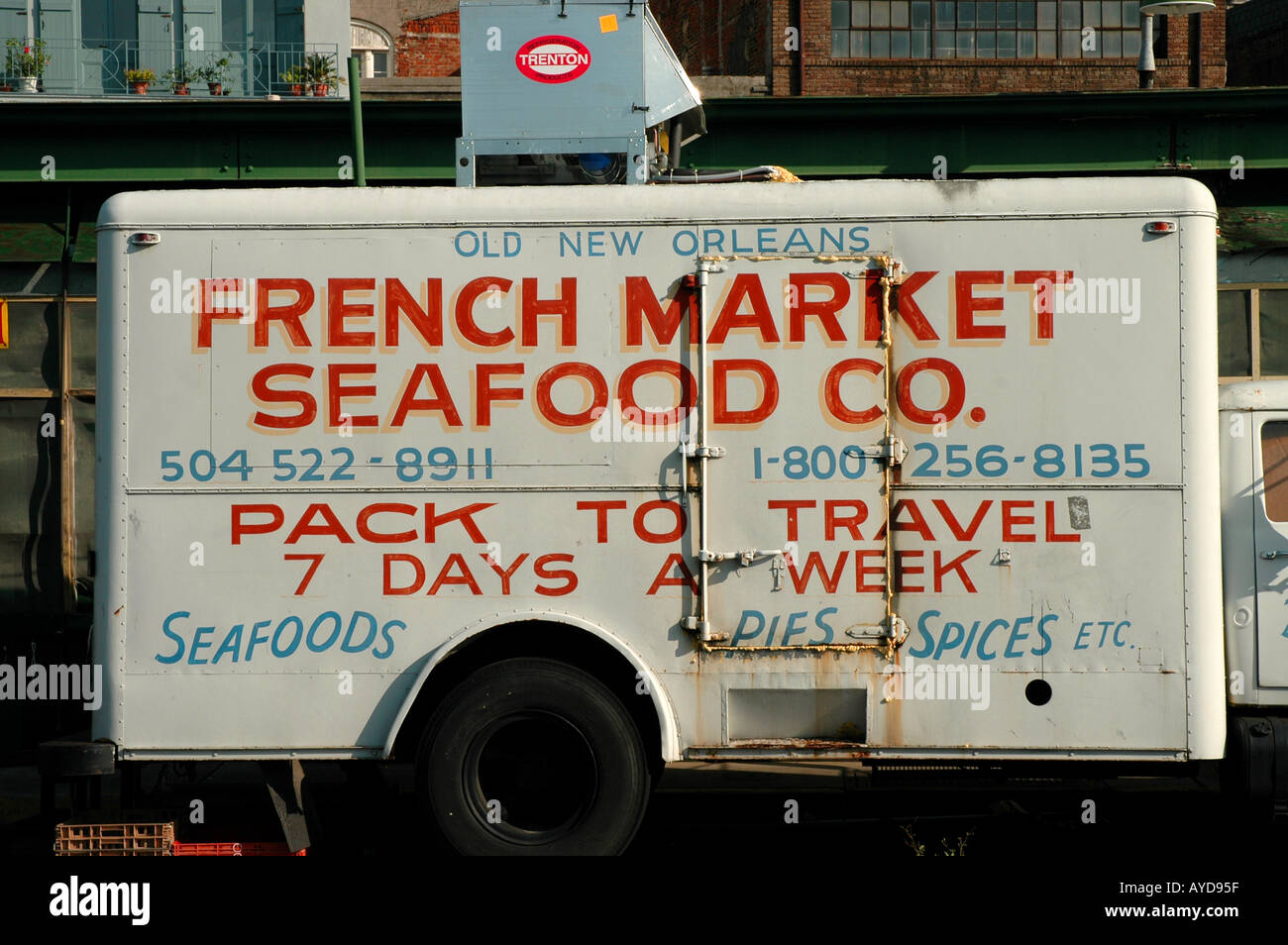 New Orleans LA Louisiana French Market - Stock Image