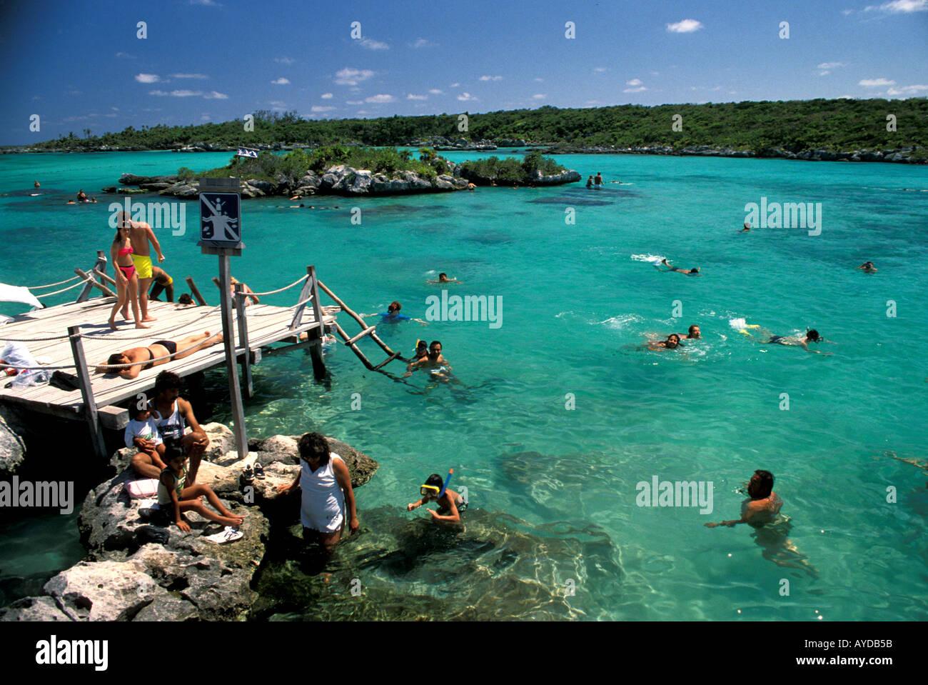Mexico Yucatan Cancun Area Xel Ha Water Park