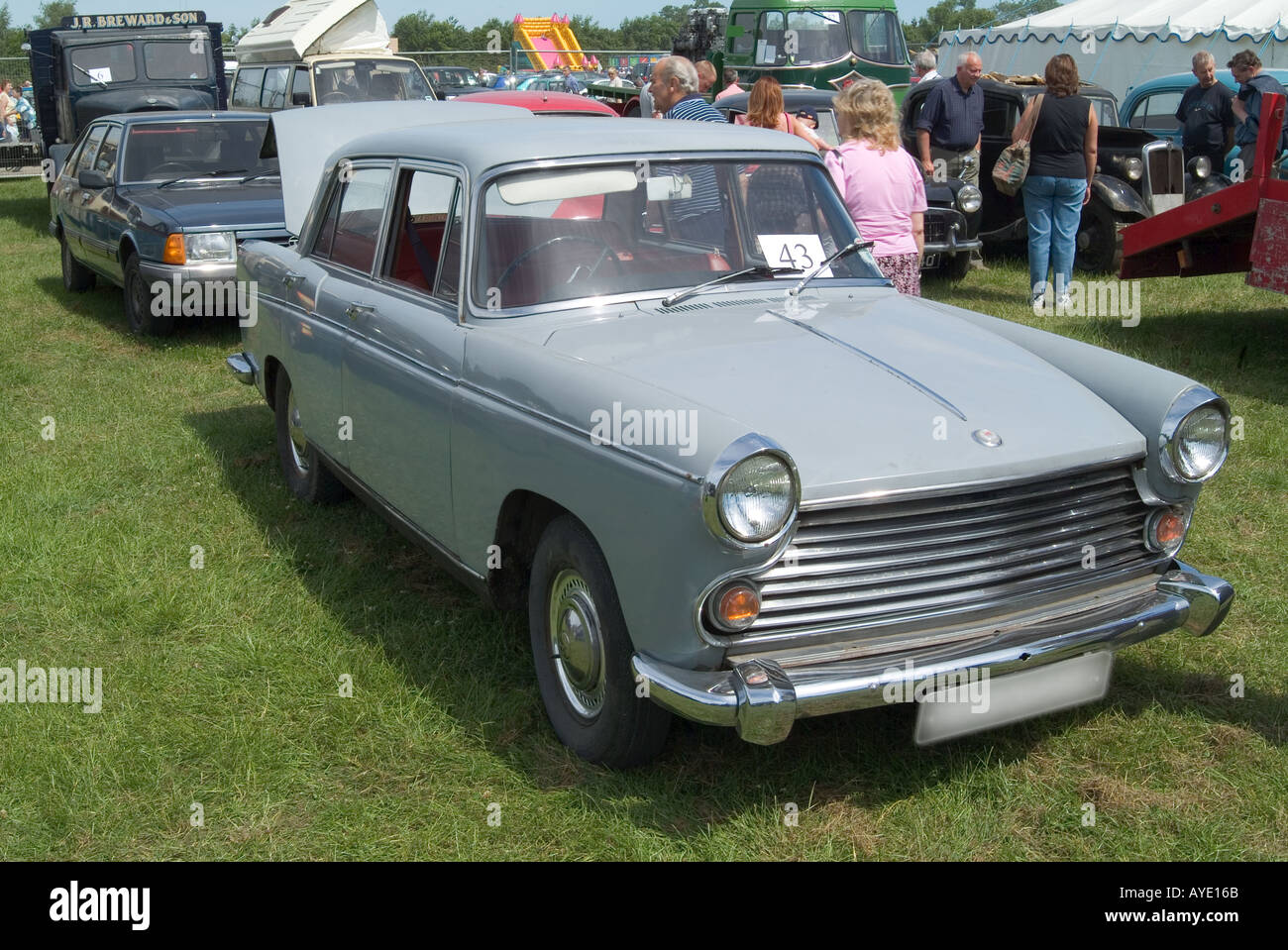 austin cambridge classic car england english bmc british motor Stock ...