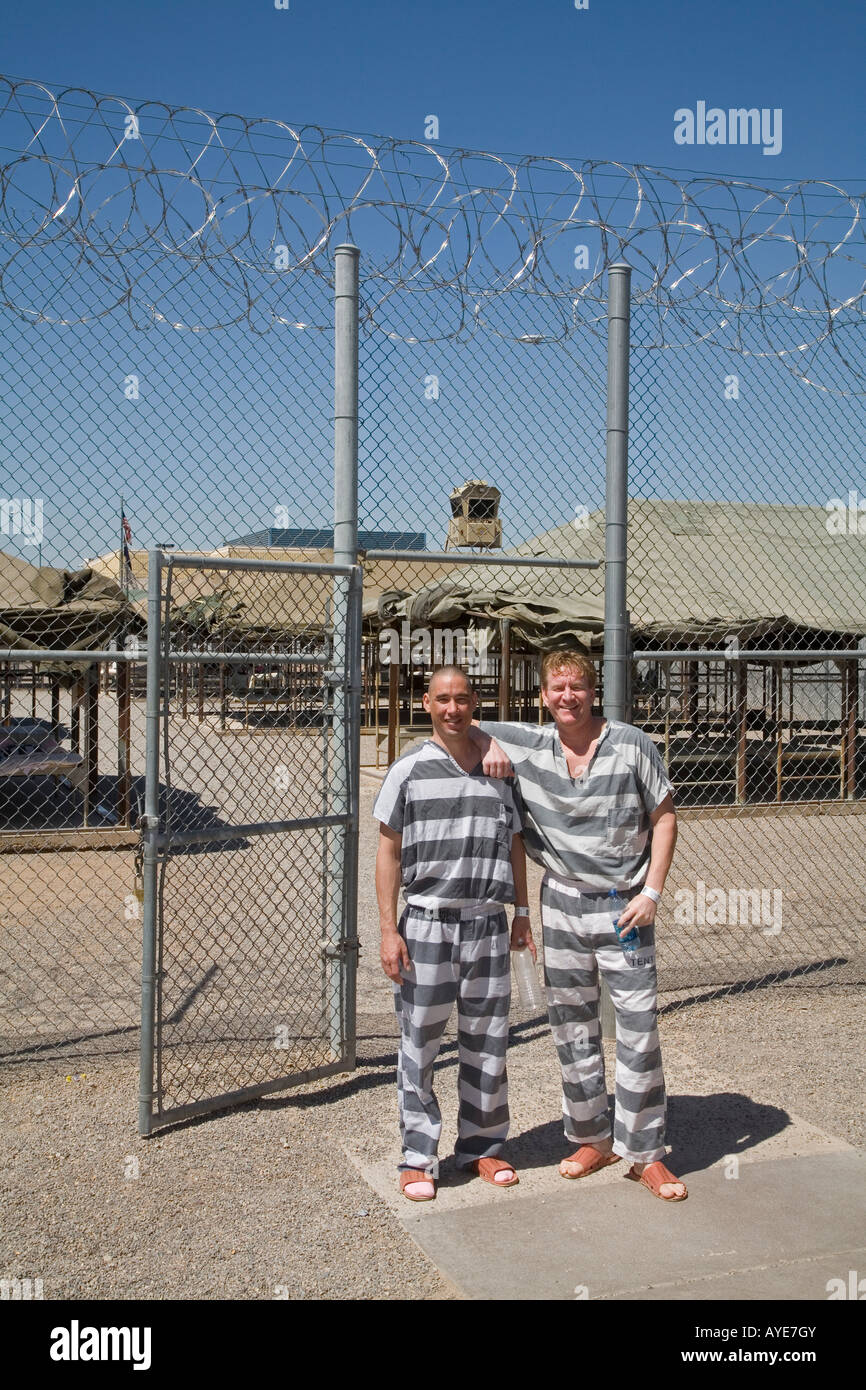 Maricopa County Tent Jail Stock Photo: 17081210 - Alamy
