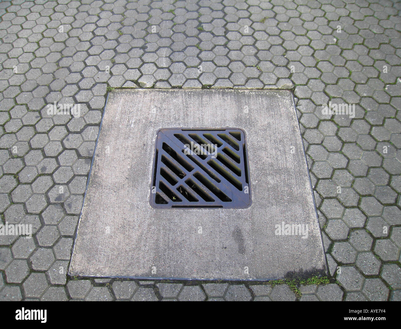 Down the drain concept Stock Photo
