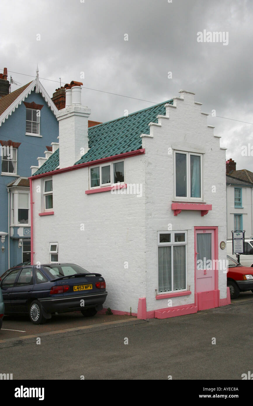 Fantasia a charming little house in Aldeburgh Suffolk East Anglia England GB UK - Stock Image