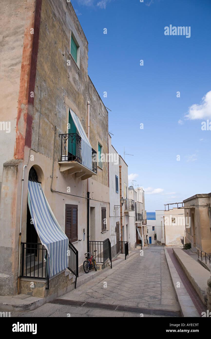 A street in marettima - Stock Image
