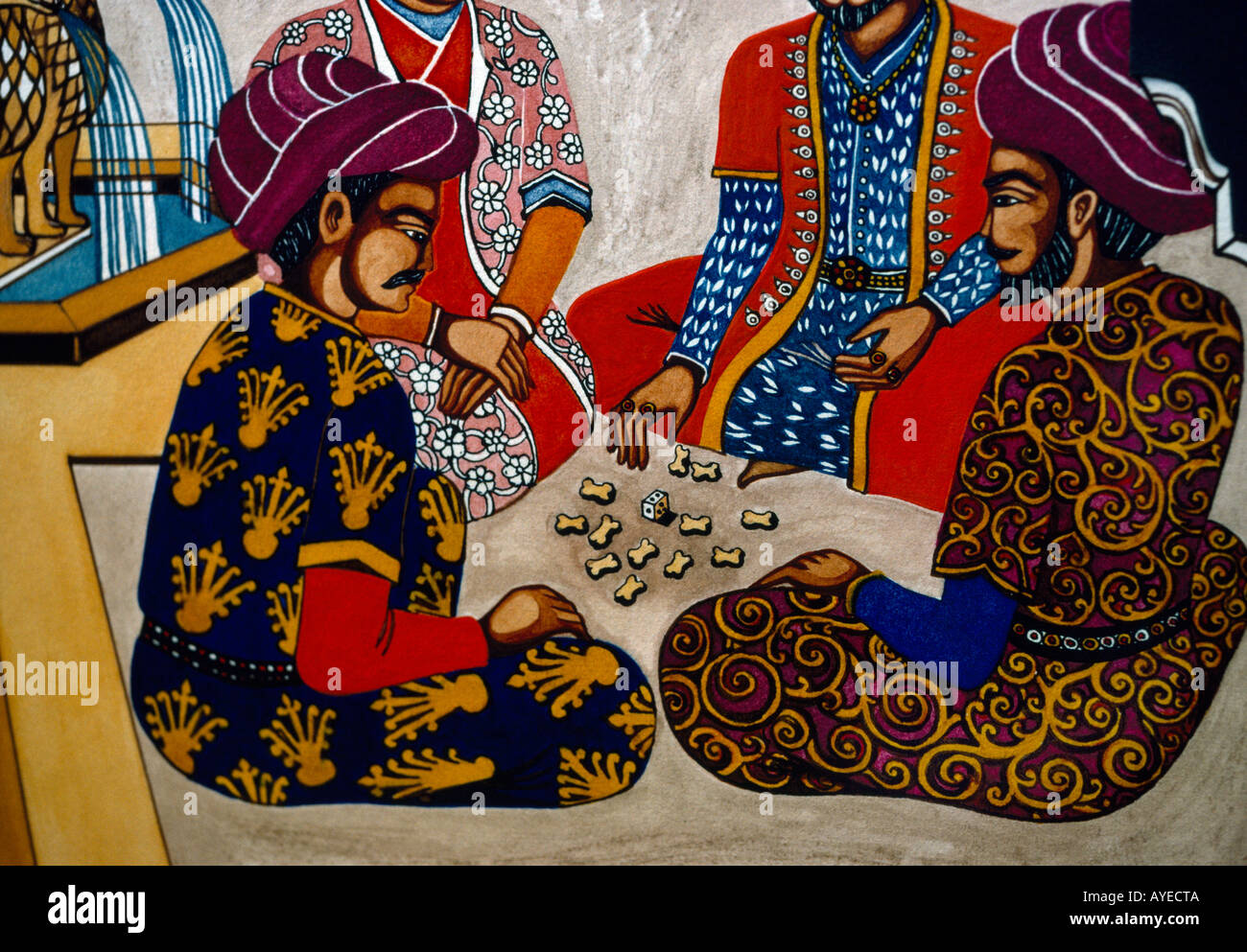 Bedouin Arab Stories From Eastern Tales - Stock Image