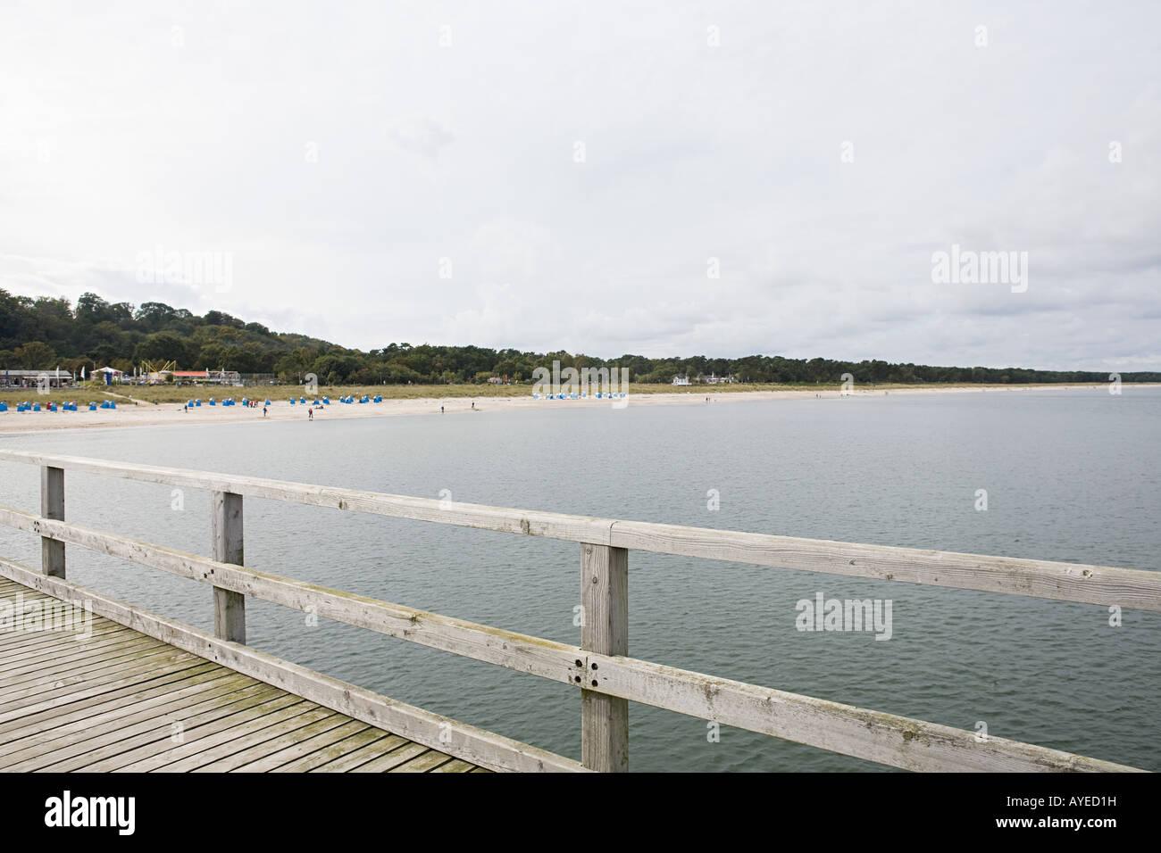 Coastal scene - Stock Image