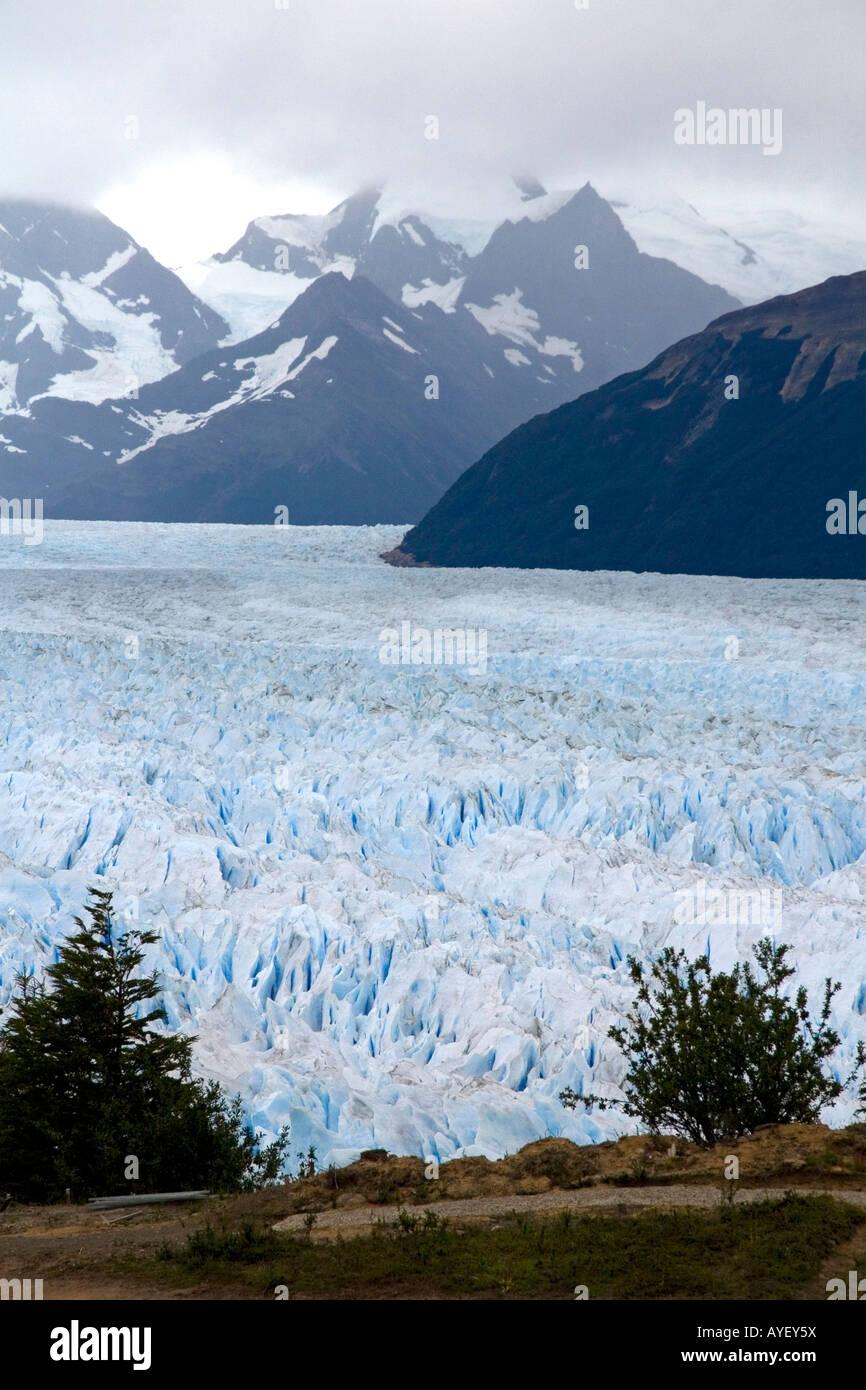 The Perito Moreno Glacier located in the Los Glaciares National Park in Patagonia Argentina Stock Photo