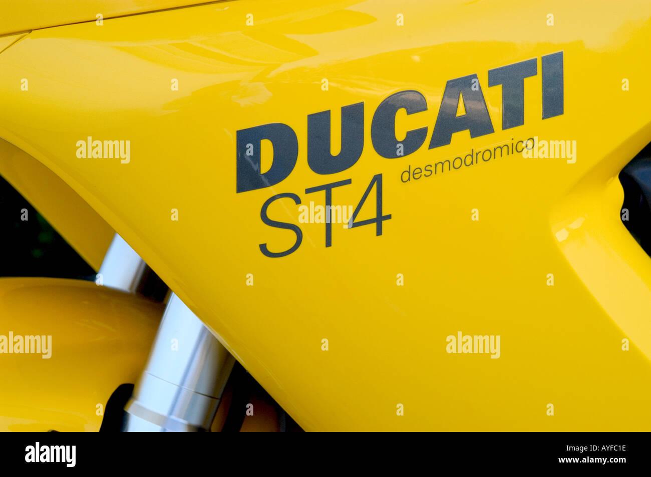 Ducati Motorcycle - Stock Image