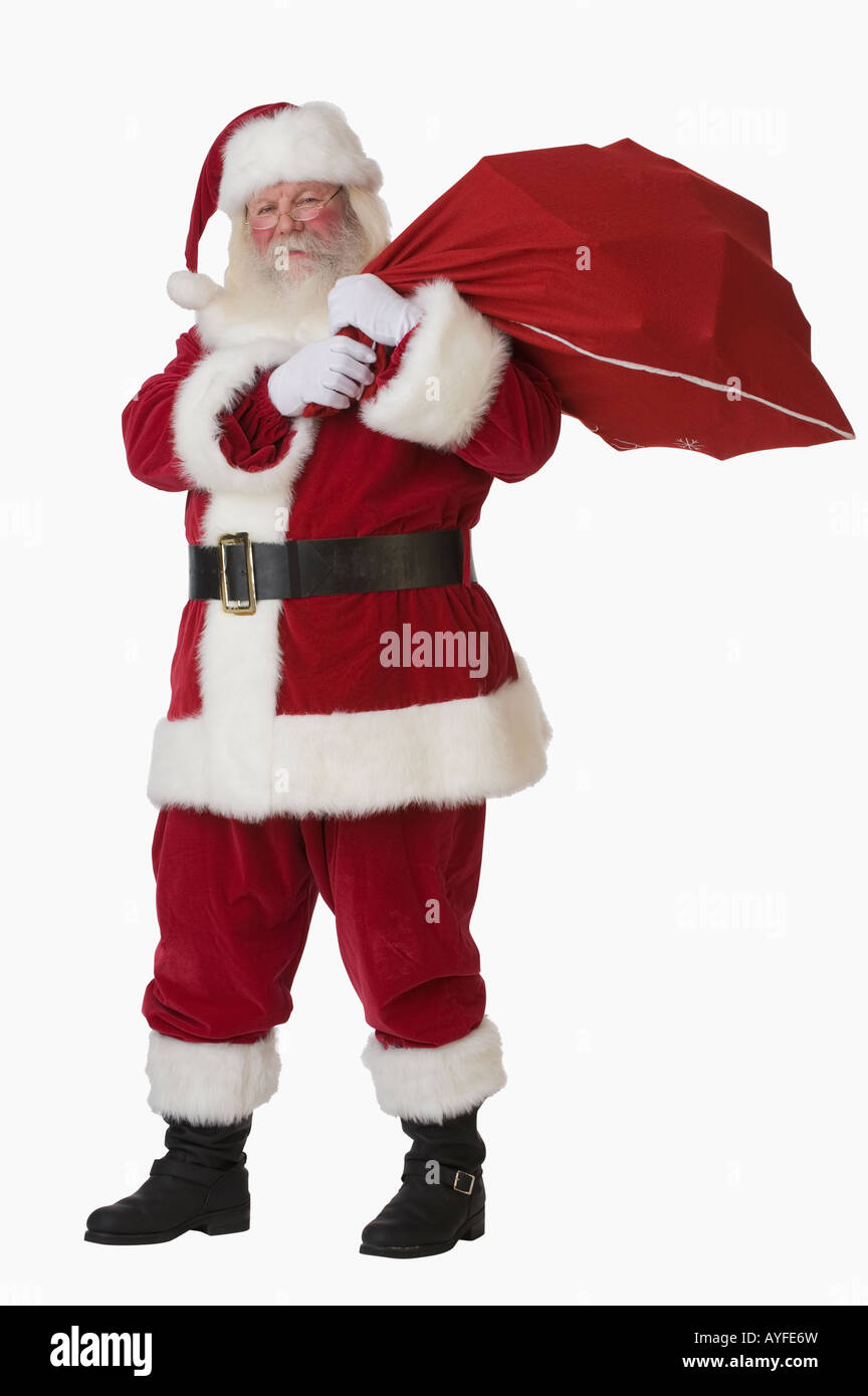 Santa Claus Bag High Resolution Stock Photography And Images Alamy
