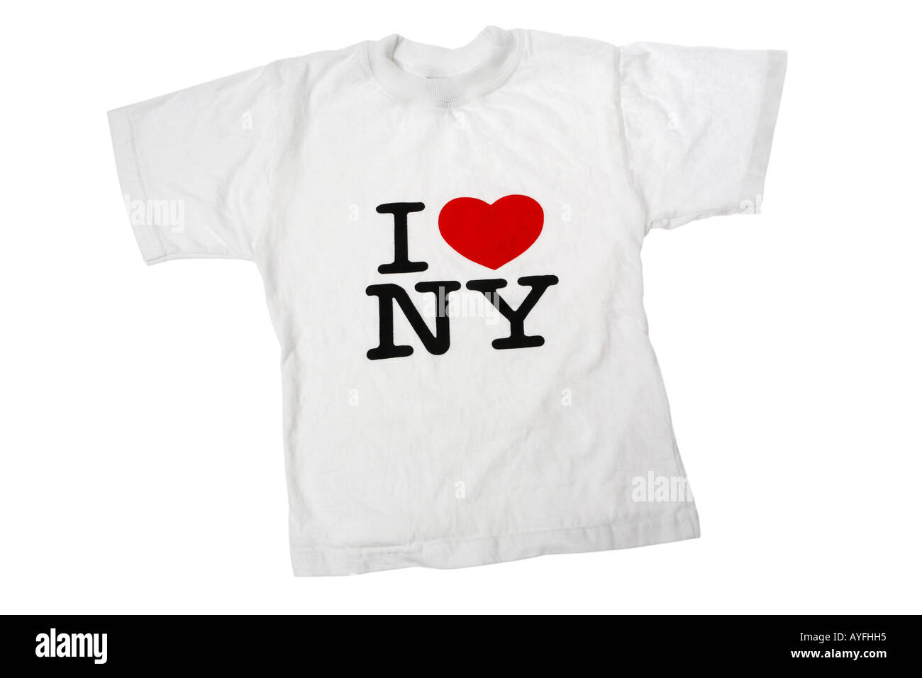 I Love New York  Souvenir T-Shirt - Stock Image