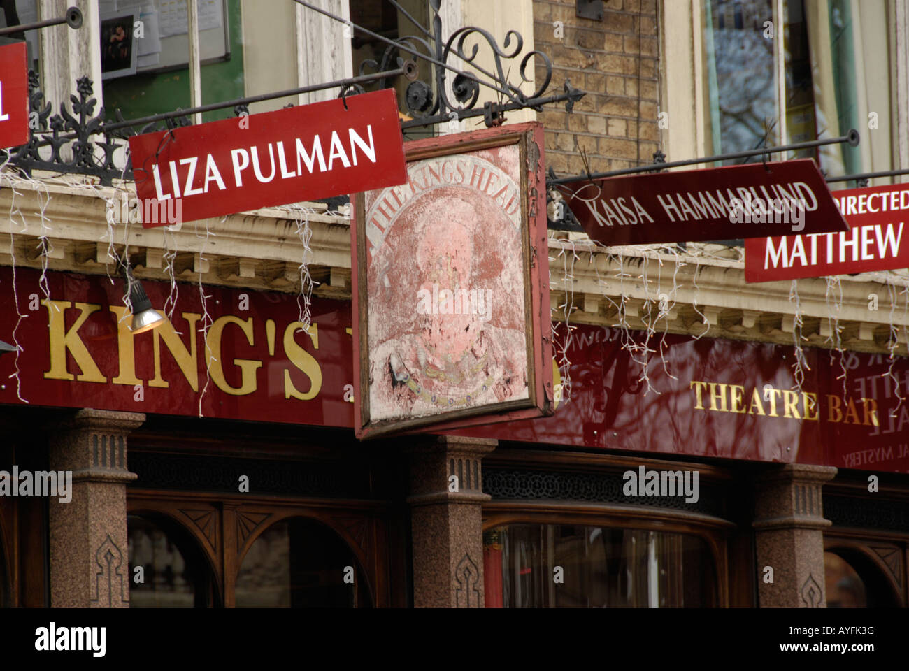 King's Head Theatre Islington London - Stock Image