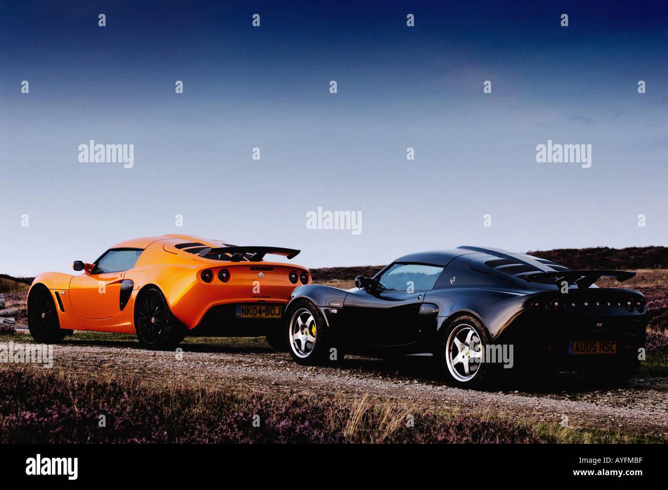 Lotus Exige Cars   Stock Image