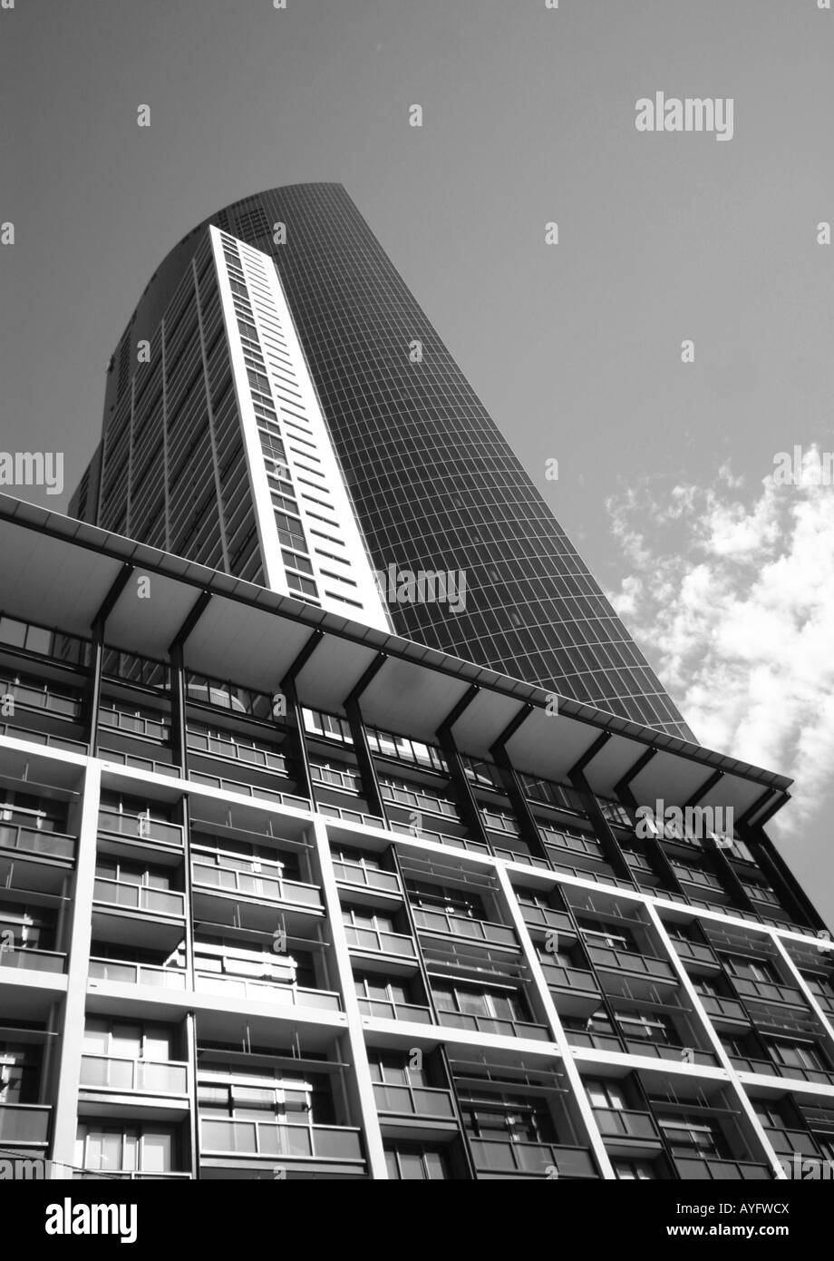 skyscrapers - melbourne australia - Stock Image