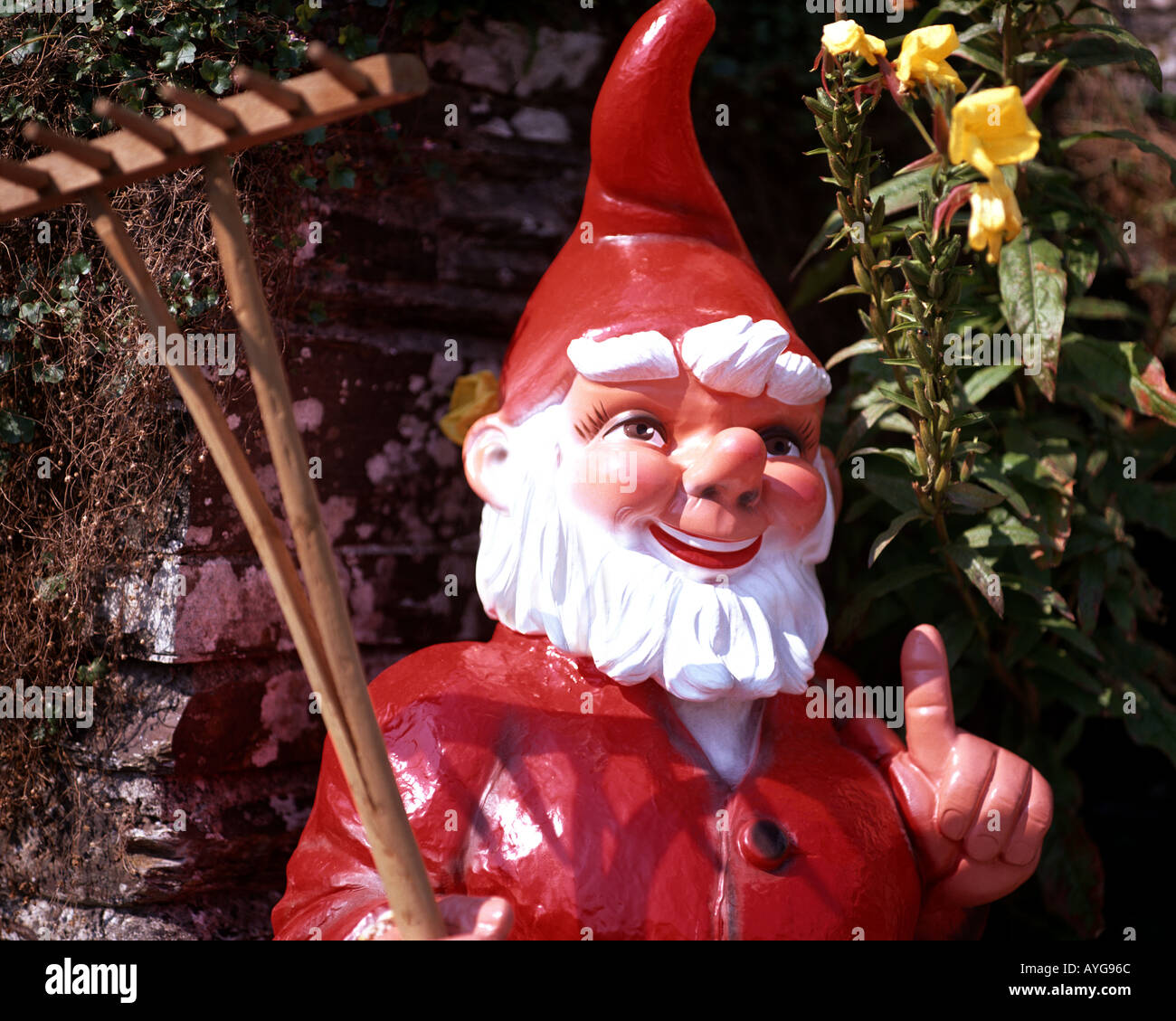 GB - CORNWALL: Detail at the Pixie Shop at Tintagel - Stock Image