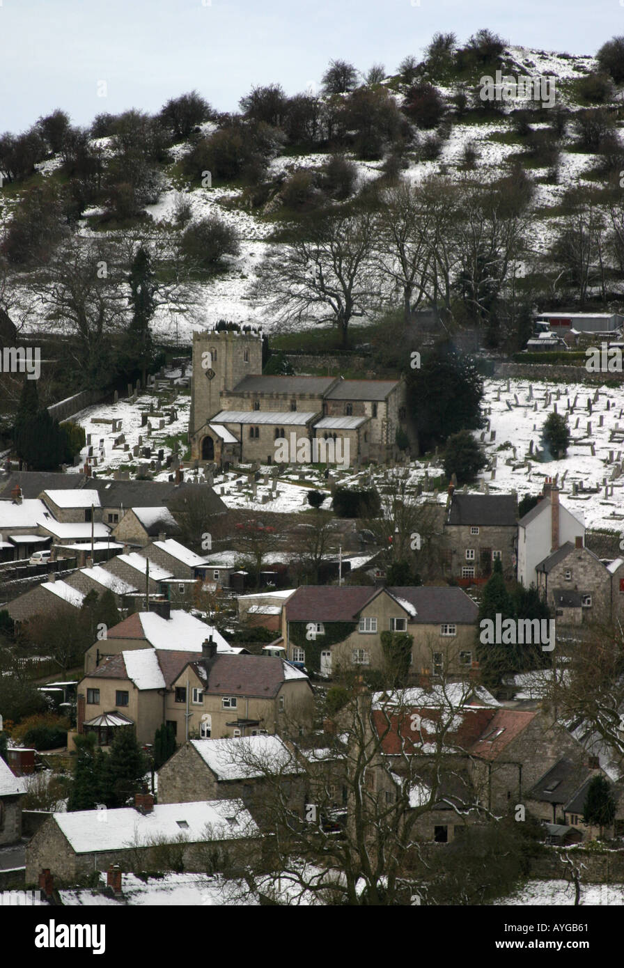 Brassington Village - Stock Image