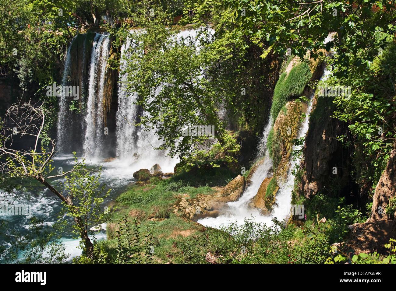 Dudan waterfall in Antalya, Turkey - Stock Image