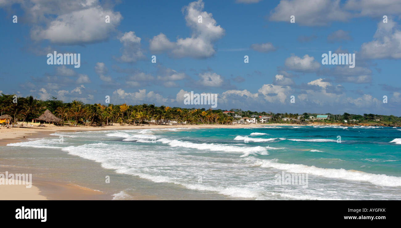 Jamaica Long bay at east coast - Stock Image