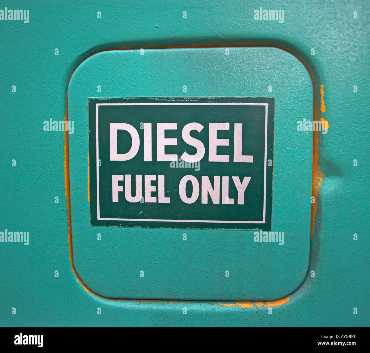 diesel gas, fuel - Stock Image