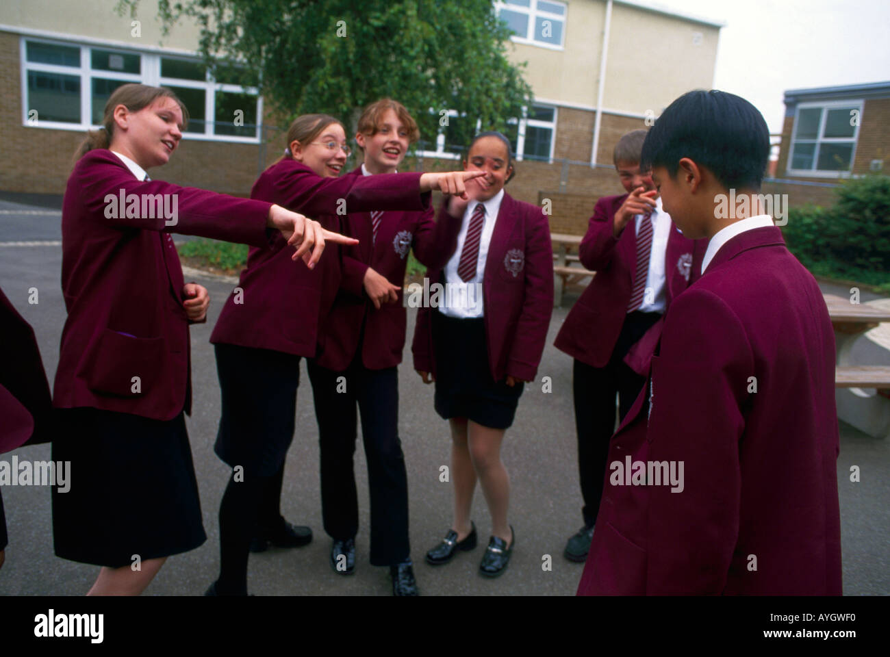 bullying in high school The 2009 wesley report on bullying prepared by an australia-based group, found that pack bullying was more prominent in high schools and characteristically lasted longer than bullying undertaken by individuals.