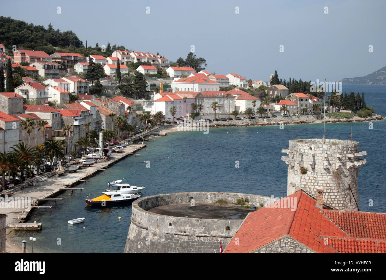 Island of Korcula Croatia - Stock Image