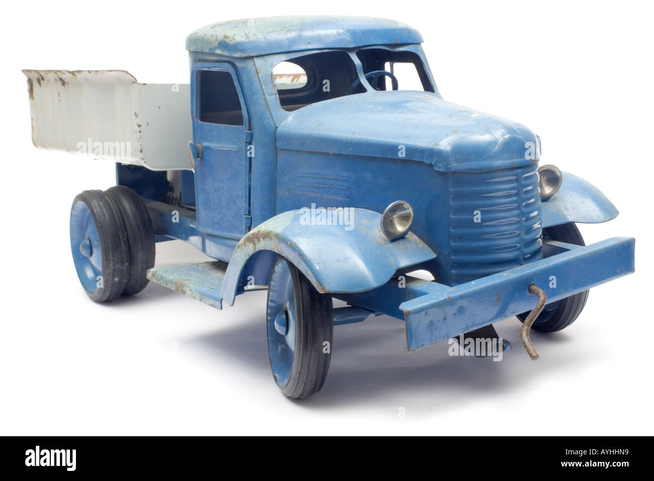 Blue Toy Truck - Stock Image