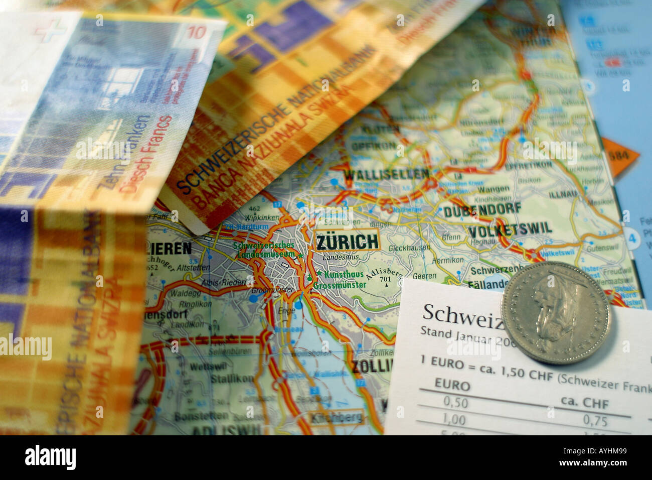 Schweizer Franken Stock Photos Schweizer Franken Stock Images