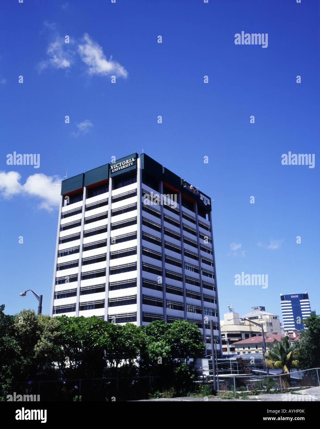 Victoria University Wellington New Zealand Stock Photo 17114274