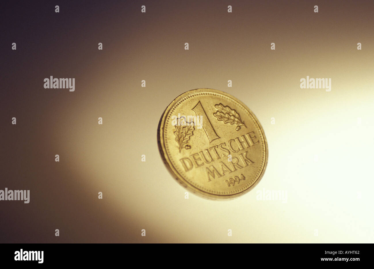 Eine Mark - Stock Image