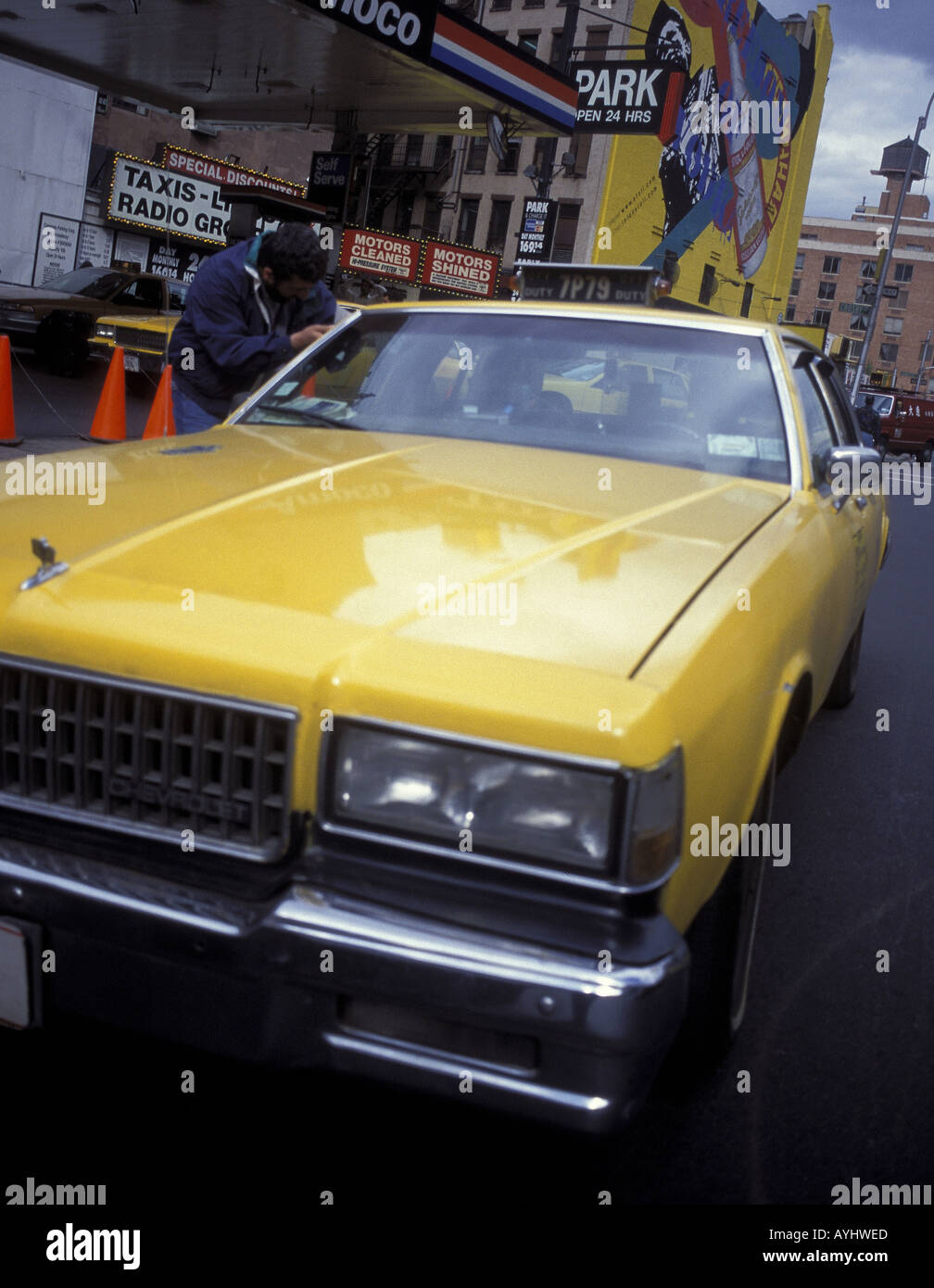 Taxi New York City - Stock Image