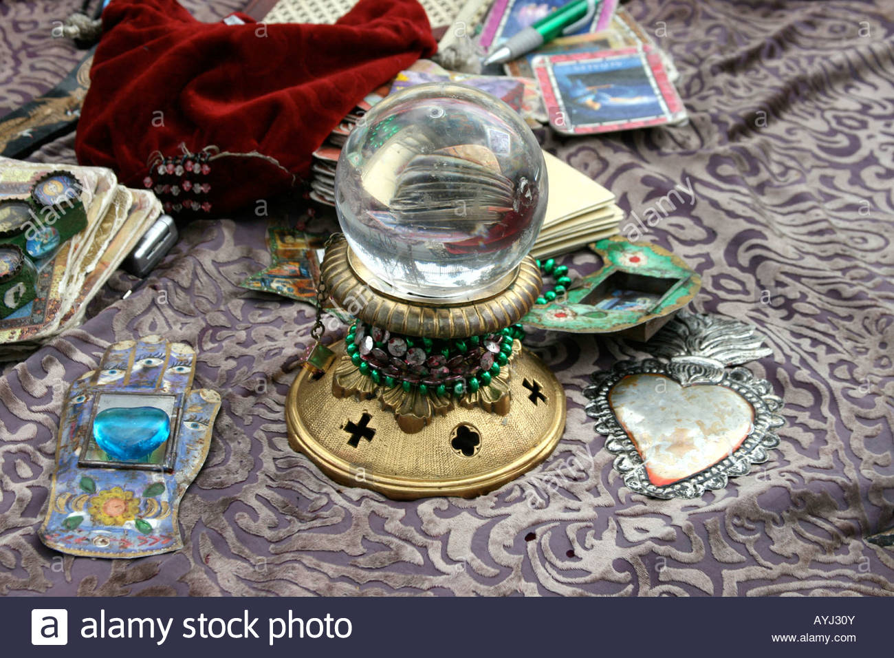 Relatively fortune, teller, crystal, ball, tarot, cards, future, reading  DF71