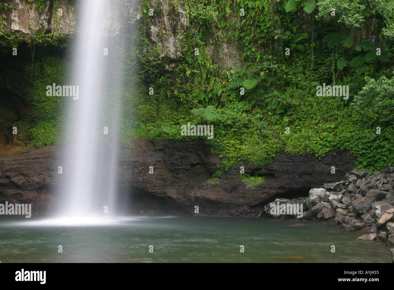 Bouma Waterfall On Taveuni In Fiji Stock Photo 3171412 Alamy