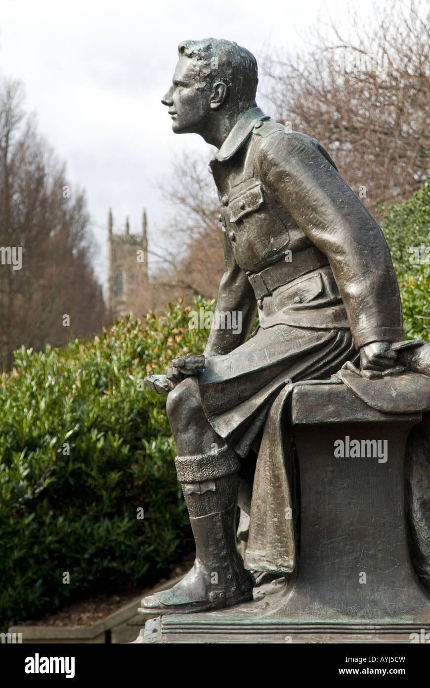 Scottish American War Memorial, Edinburgh Stock Photo