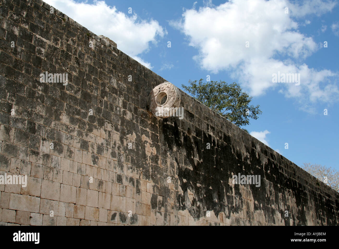 The Great Ballcourt - Stock Image