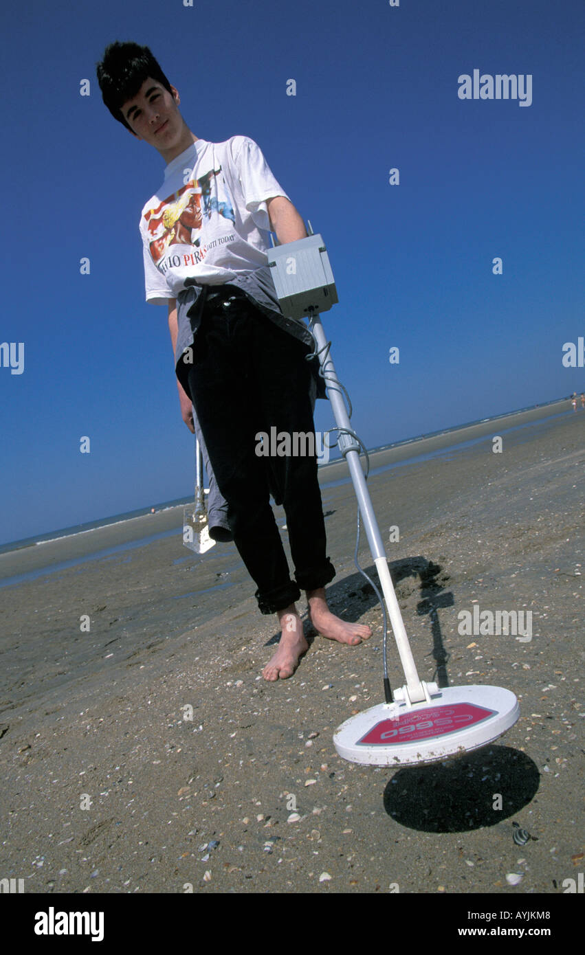 Jew Detector: Adult Male Metal Detector Stock Photos & Adult Male Metal
