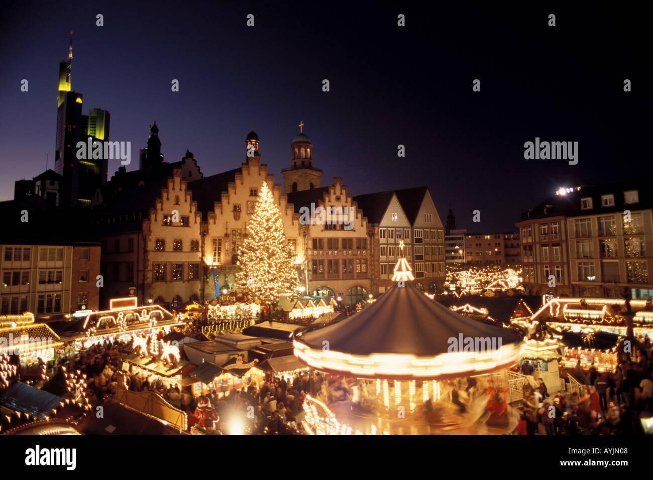 Frankfurter Weihnachtsmarkt.Frankfurter Weihnachtsmarkt Stock Photos Frankfurter