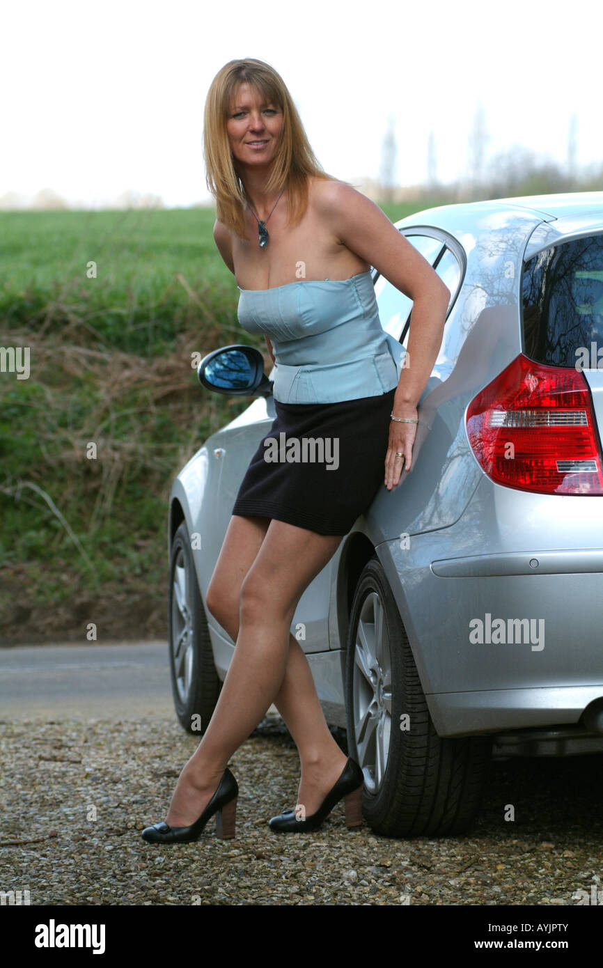 Mature short skirt