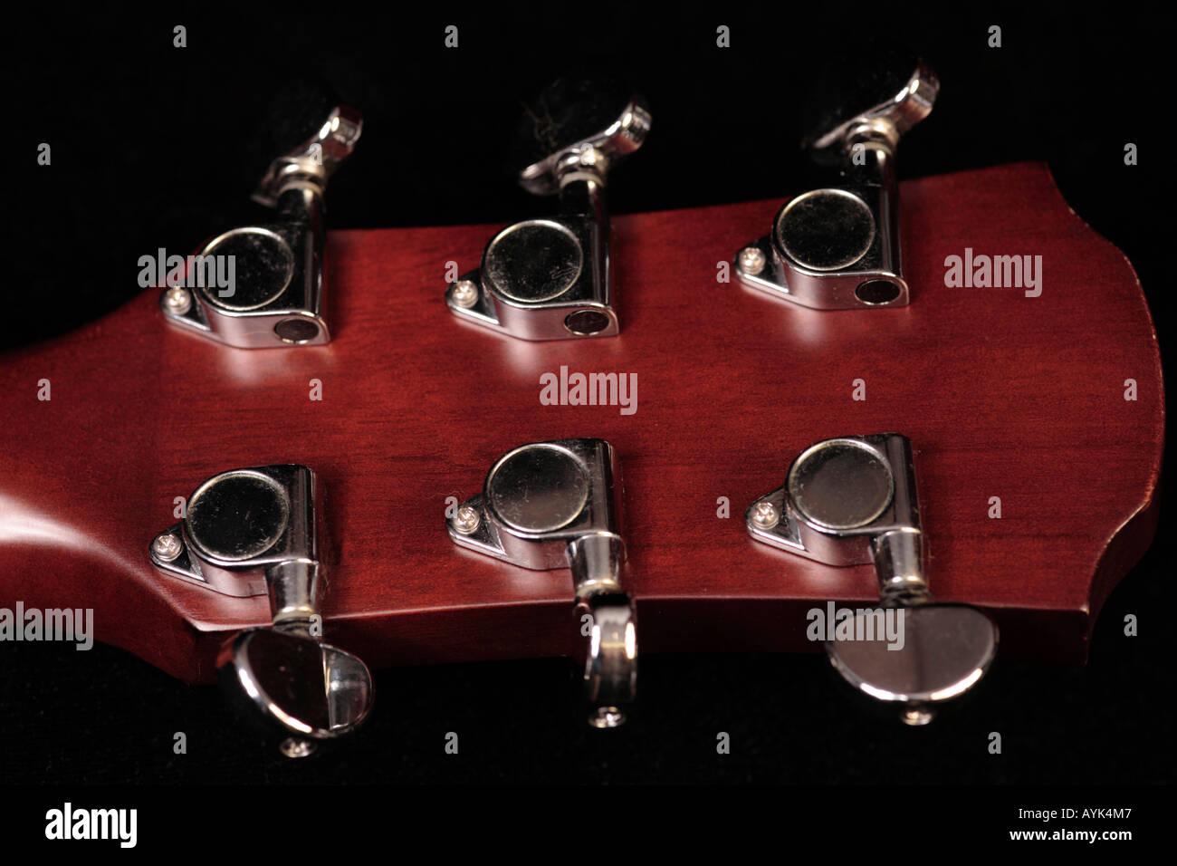 Electric Guitar Parts Stock Photos Image