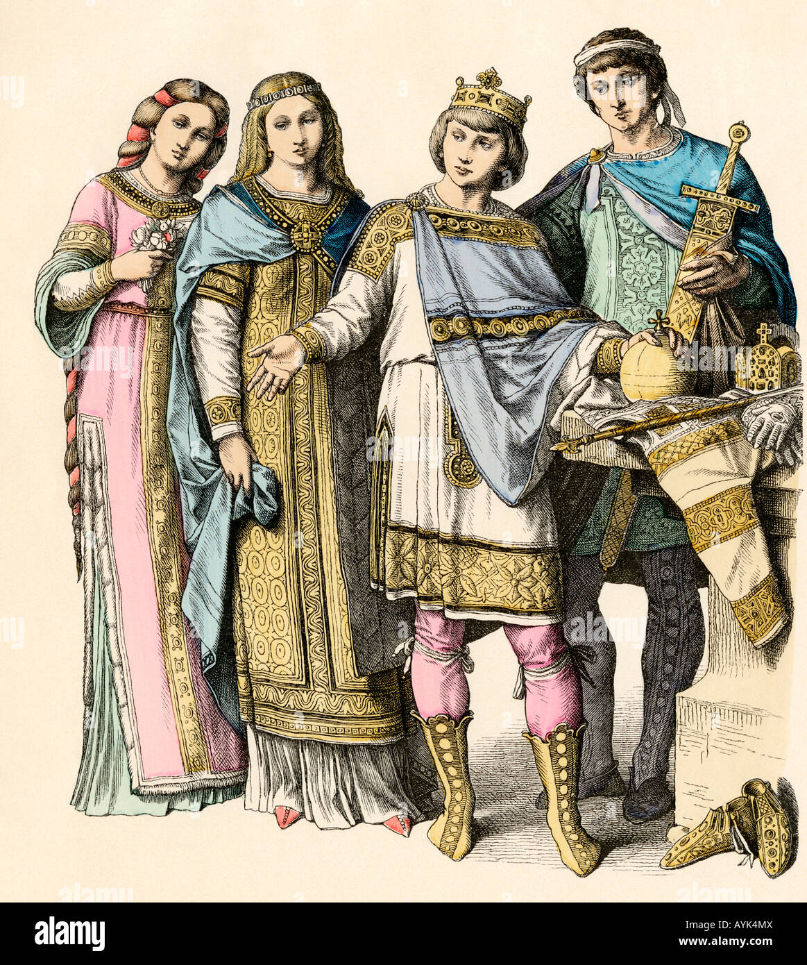 a biography of charlemagne a king of the franks Learn more about charlemagne, the king of the franks who united western  europe for the first time since the fall of the roman empire, at biographycom.
