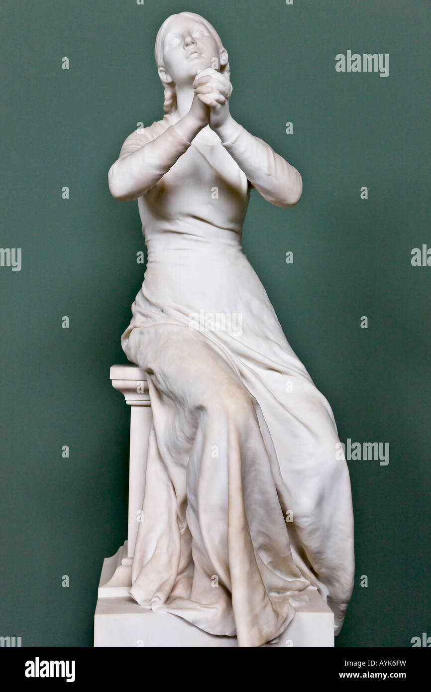Sculpture of Fidelity - Stock Image