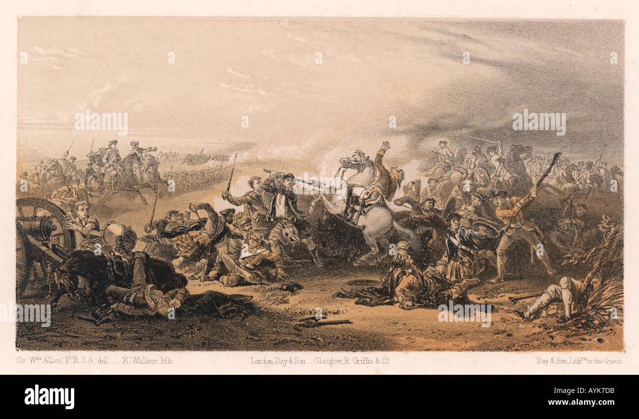 Battle Of Prestonpans Stock Photo
