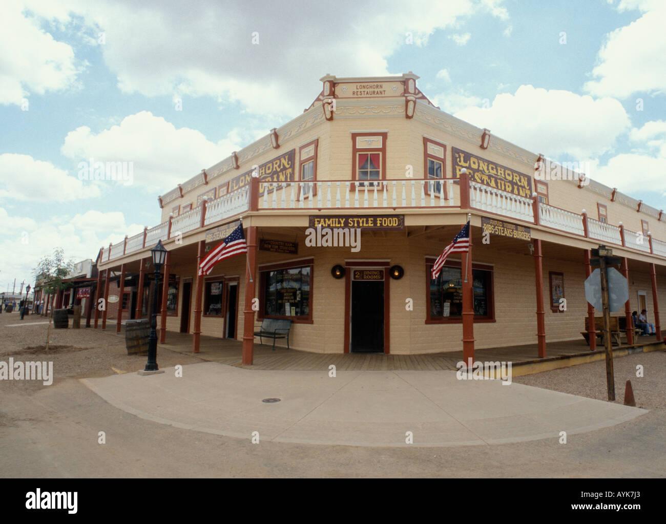 Tombstone - Arizona - USA Old West Stock Photo
