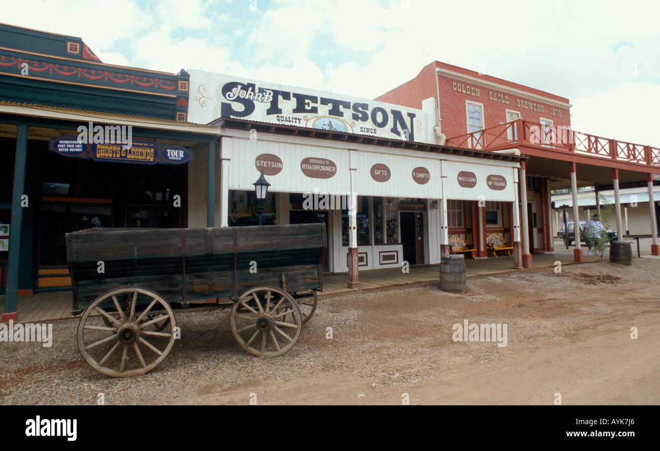 Tombstone - Arizona - USA Old West Stock Photo