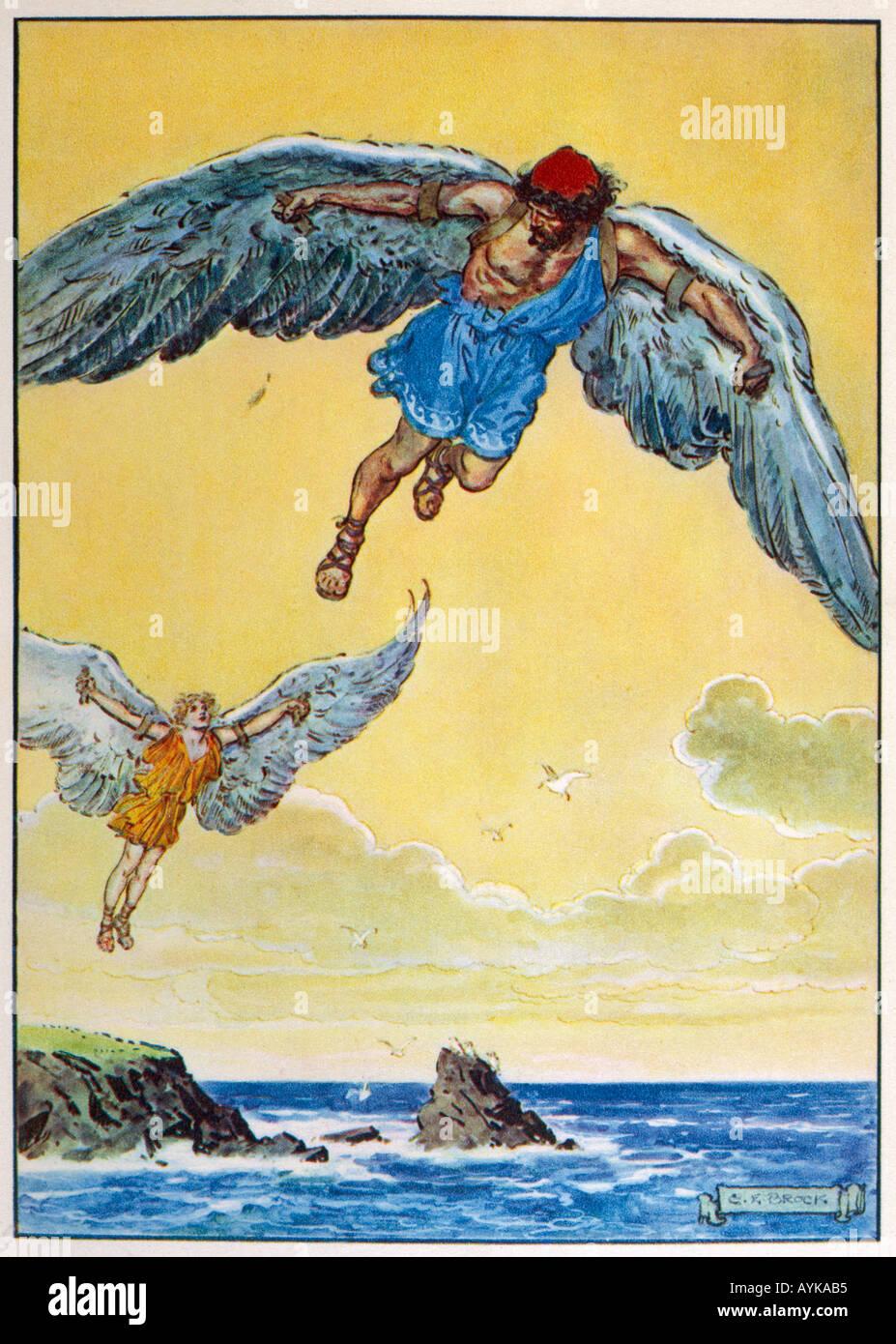 Icarus Daedalus - Stock Image