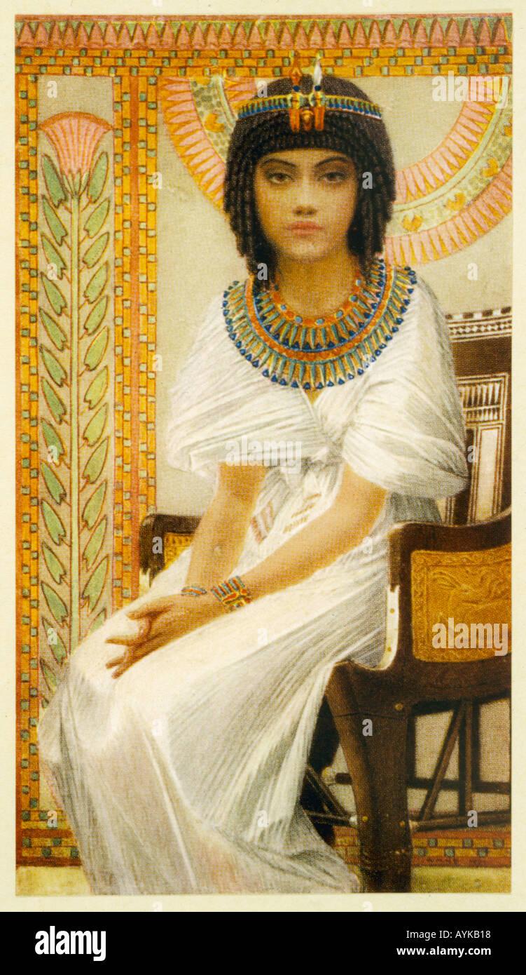 Queen Ankhesenamun - Stock Image