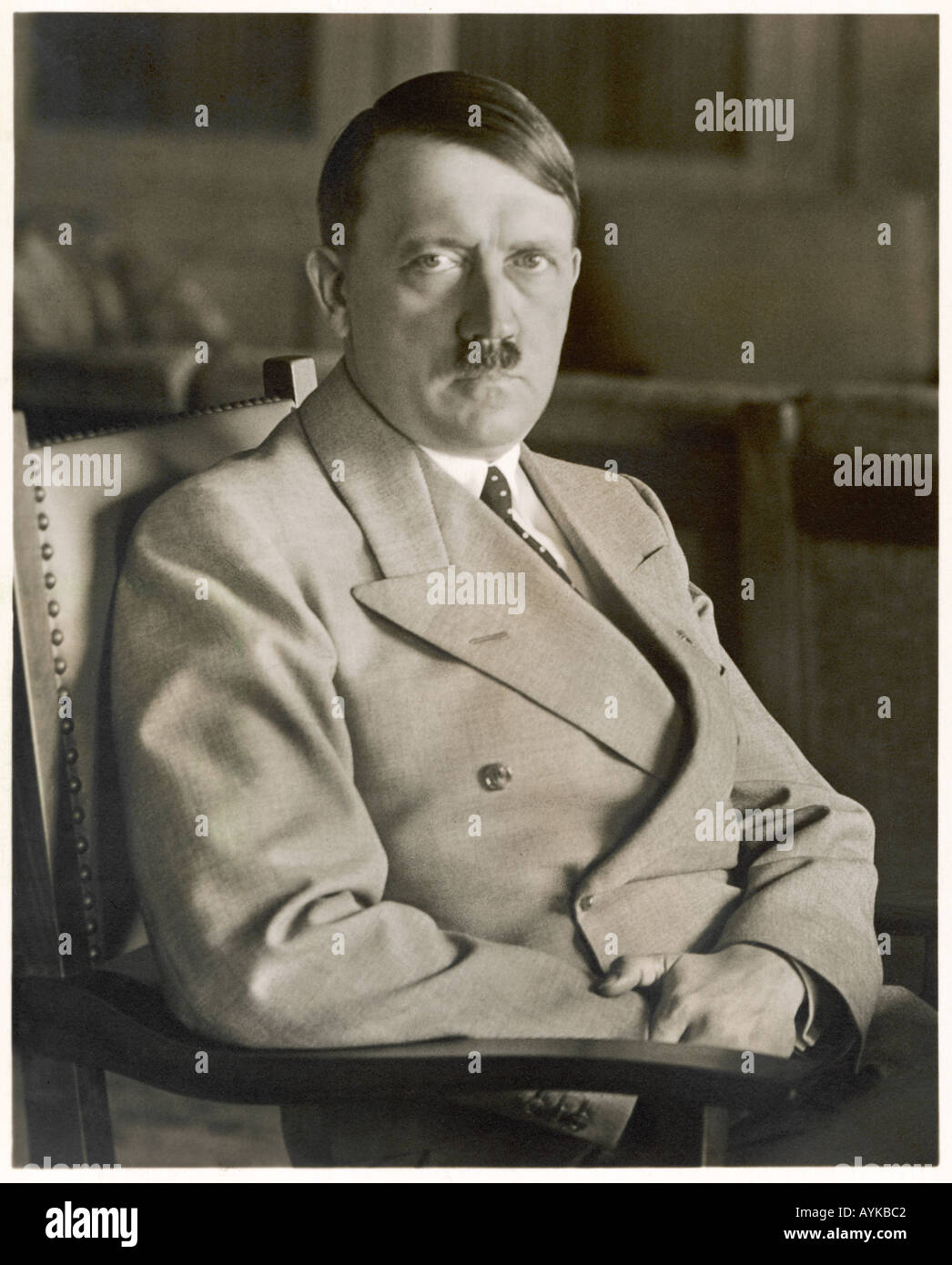 Adolf Hitler  Befreier - Stock Image