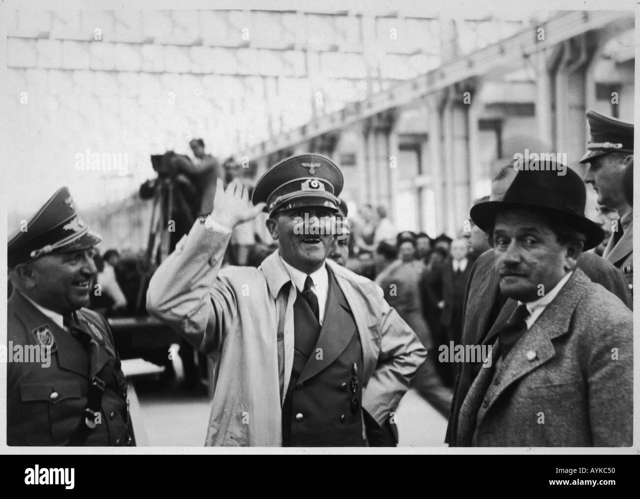 Hitler Vw Factory Visit - Stock Image
