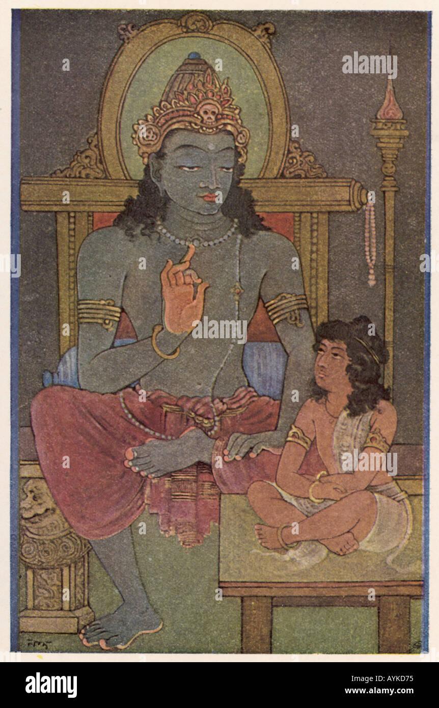 Krishna And Arjuna - Stock Image
